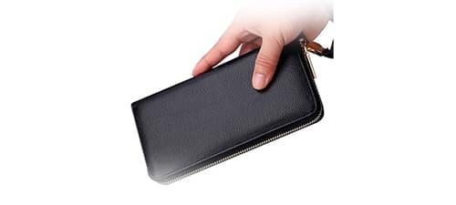 Довгий чоловічий гаманець зображення картинка
