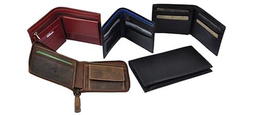 Кожаные мужские кошельки изображение картинка