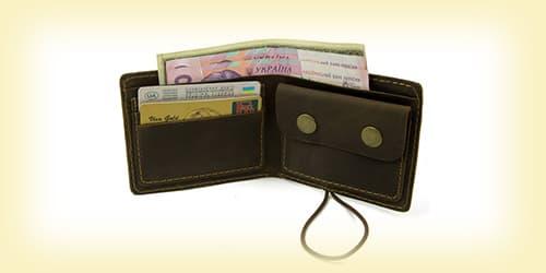 Кожаные портмоне мужские изображение картинка