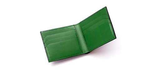 Чоловічі зелені гаманці