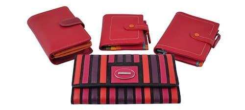 Красные женские кошельки фото 1