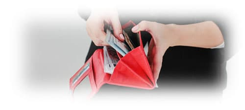 Жіночий червоний гаманець зображення картинка