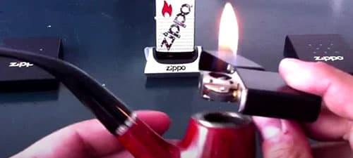 Зажигалка Zippo Pipe и трубка