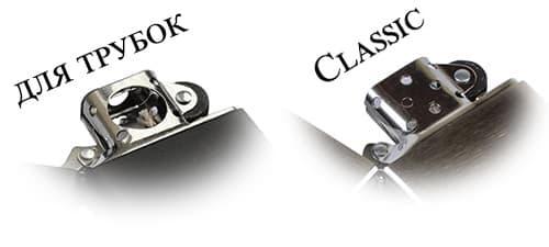 Фото Зажигалки Zippo Pipe для трубок и классическая модель