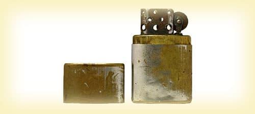 Зразок австрійської запальнички, послужив прототипом Zippo зображення картинка