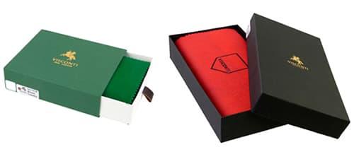 Фото упаковок товарів виробів Visconti